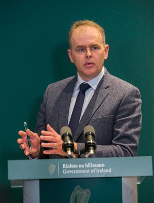 UNDER PRESSURE: Education Minister Joe McHugh felt the need to make a decision. Picture: Collins