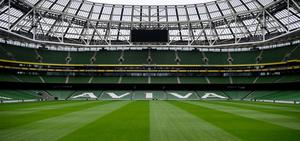 A general view of the Aviva Stadium in Dublin. Photo: Stephen McCarthy/Sportsfile