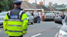 The scene of a tragic double killing in Deerpark, Charleville, Cork. Pic Daragh Mc Sweeney/Provision