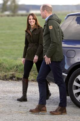 Britain's Prince William and Catherine, Duchess of Cambridge visit the Teagasc Animal & Grassland Research Centre at Grange, County Meath, Ireland March 4, 2020. Aaron Chown/Pool via REUTERS