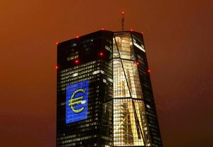 European Central Bank (ECB) headquarters in Frankfurt. Photo: Reuters