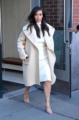 Kim Kardashian is seen on February 22, 2014 in New York City.  (Photo by NCP/Star Max/GC Images)
