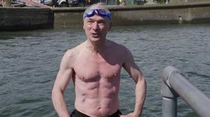 Action men: Richard Bruton has revealed himself to be Fine Gael's latest answer to Daniel Craig, following in the footsteps of Eoghan Murphy. Photo: Frank McGrath