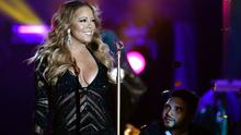 Mariah Carey performs during the ceremony of World Music Awards at Sporting Monte-Carlo