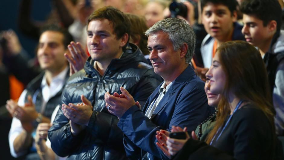 Right-hand man: Matt O'Donohue is increasingly seen at Jose Mourinho side. Photo: Clive Brunskill/Getty Images