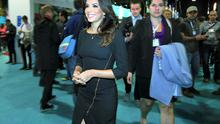 Hollywood actress Eva Longoria at the Web Summit at the RDS. Photo: Steve Humphreys