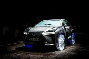 Lexus commissioned a team of ice-sculpture specialists to examine if, and how, ice could be used instead of traditional alloy metal and rubber.