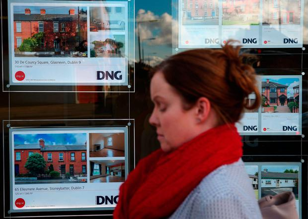 The help-to-buy scheme for first-time buyers has already sparked warnings about higher property prices and increased competition for limited homes. Photo: Brian Lawless/PA Wire