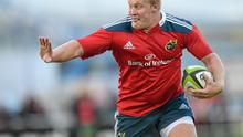 It's been a tough few years for Munster prop John Ryan as he battles with Ulcerative Colitis