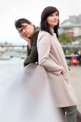 Campaign: Graham Linehan and wife Helen (left) shared their heartbreaking story and have called for the abortion laws in Ireland to  change so another mother like Savita Halappanavar, would not have to die unnecessarily