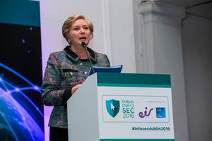 Frances Fitzgerald highlighted the lack of space at facilities Picture: Kyran O'Brien