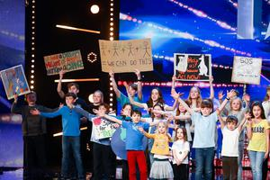 SOS From the Kids, one of the acts auditioning on Saturday's edition of Britain's Got Talent (Tom Dymond/Syco/Thames)