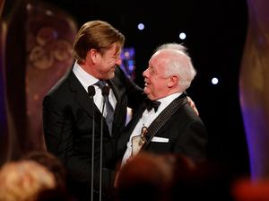 Sean Bean who presented Jim Sheridan with the Lifetime Achievement Awards at the IFTA Awards 2015 at the Mansion House, Dublin. Photo by Kyran O'Brien NO FEE PIC