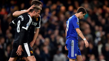 Chelsea's Oscar looks dejected after missing a penalty. Action Images via Reuters / Tony O'Brien