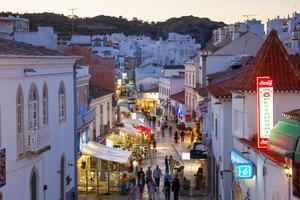 Outside the 'green list': Hundreds of teenagers are flying out to the Algarve in Portugal