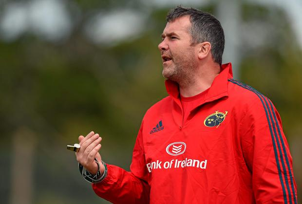 Anthony Foley's first game as Munster head coach will see him pit his wits against former Ireland team-mate David Humphrey's and ex-Munster coach Laurie Fisher. Diarmuid Greene / SPORTSFILE