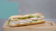 Hot Chicken Roll. Photo Credit: RTE What Are You Eating?