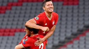 Bayern Munich striker Robert Lewandowski was the favourite for the Ballon d'Or before the award was cancelled for 200. Sven Hoppe/PA Wire via DPA.