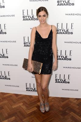 Amber Le Bon attends the Elle Style Awards 2014 at one Embankment on February 18, 2014 in London, England.  (Photo by Ian Gavan/Getty Images)