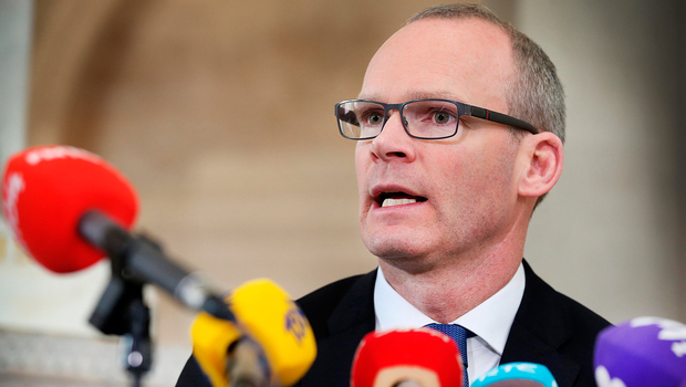 Simon Coveney doesn't believe FF's legal advice is credible Picture: Steve Humphreys