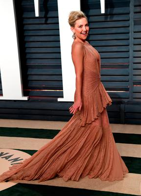Kate Hudson arriving at the Vanity Fair Oscar Party in Beverly Hills, Los Angeles, USA.