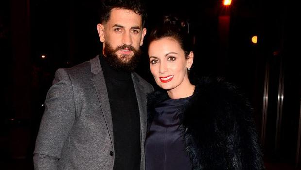 Louise Duffy and fiance Paul Galvin