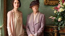Exit stage left: Lady Mary (Michelle Dockery) and the Dowager Countess (Maggie Smith) Nick Briggs/Carnival Films