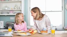 There are ways to incorporate a new healthy regime into the family home without causing difficulties for children around food.