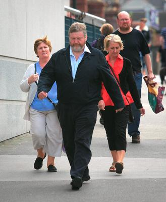 Minister for Children James Reilly TD  at the All Ireland Hurling Final between Kilkenny & Tipperary at Croke Park, Dublin. Photo:  Gareth Chaney Collins