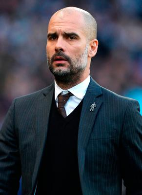 Manchester City manager Pep Guardiola Picture: Martin Rickett/PA Wire