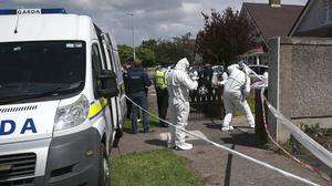 21/06/20  Gardai at the scene of a fatal assault at a house in Willow Wood Blanchardstown Dublin 15.Pic Stephen Collins/ Collins Photos