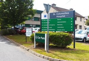 St Columcille's hospital in Loughlinstown, Dublin, has been hit by an outbreak