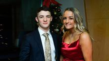 Irish gymnast Rhys McClenaghan with his girlfriend Charlotte Slater during the 2019 Irish Independent Sport Star Awards with The Croke Park at the Croke Park Stadium in Dublin. Photo by Matt Browne/Sportsfile