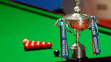 The final of the World Snooker Championship is taking place at the Crucible Theatre, Sheffield