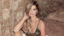 Vogue Williams wears: Playsuit, Topshop, all jewellery throughout, Vogue's own. Photo: Aaron Hurley.