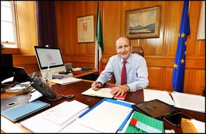 Big issues: Micheál Martin says he wants to pass laws that help people. Photo by Steve Humphreys
