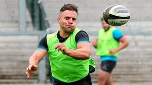Ian Madigan's last season with Bristol was hugely frustrating as he was nudged out of the picture, but the out-half is looking at his move to Ulster as a fresh start. Photo: Sportsfile