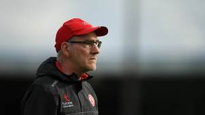 Tyrone manager Mickey Harte during the GAA Football All-Ireland Senior Championship Round 2 match between Longford and Tyrone at Glennon Brothers Pearse Park in Longford.  Photo by Eóin Noonan/Sportsfile