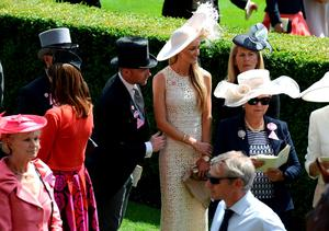 ASCOT, ENGLAND - JUNE 18:  Ronan Keating and Storm Uechtritz on day 3 during Royal Ascot 2015 at Ascot racecourse on June 18, 2015 in Ascot, England.  (Photo by Kirstin Sinclair/Getty Images for Ascot Racecourse)