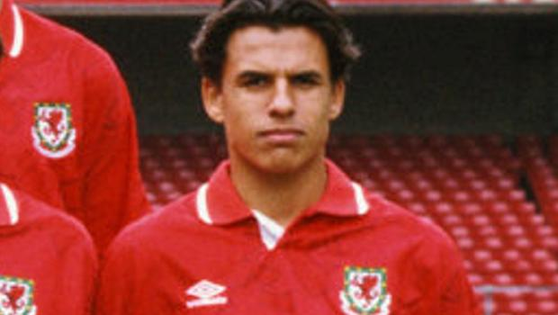 Chris Coleman pictured in the Wales squad during their 1994 FIFA World Cup qualifying campaign. Photo: GETTY