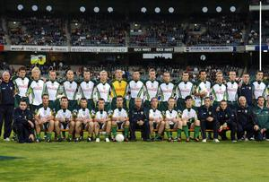 The Ireland squad Down Under in 2005. Ray McManus / SPORTSFILE