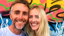 New life: Ruairi McKiernan and his wife Susan Quirke moved to Co Clare