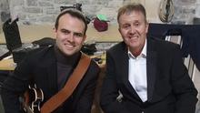 Roy Taylor and his son Terence who have reached number 1 on iTunes with their download single