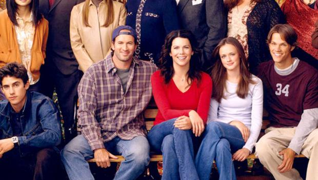 The Gilmore Girls cast. Picture: Gilmore Girls/ The CW