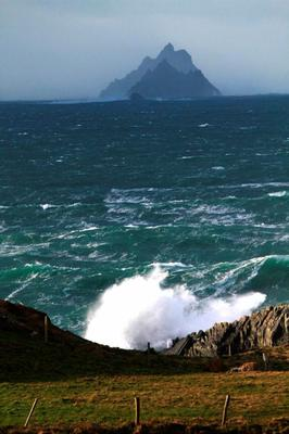 Skellig Michael from St. Finian's Bay. Photo: Fáilte Ireland