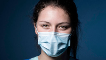 'Martin Cormican, the HSE's clinical lead, said last week there was no evidence to support the wearing of surgical masks by healthcare workers for close patient encounters and staff meetings, according to new official guidance.' Photo: JOEL SAGET/AFP via Getty Images