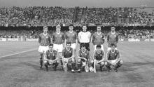 The Republic of Ireland football team who played the England in the World Cup Italia '90