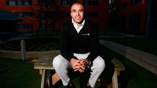 Simon Zebo was in Dublin speaking as a Paddy Power Six Nations rugby ambassador. Photo: Karen Morgan