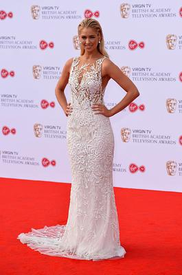 Amanda Clapham attends the Virgin TV BAFTA Television Awards at The Royal Festival Hall on May 14, 2017 in London, England.  (Photo by Jeff Spicer/Getty Images)