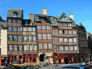 Rennes charming Old Town